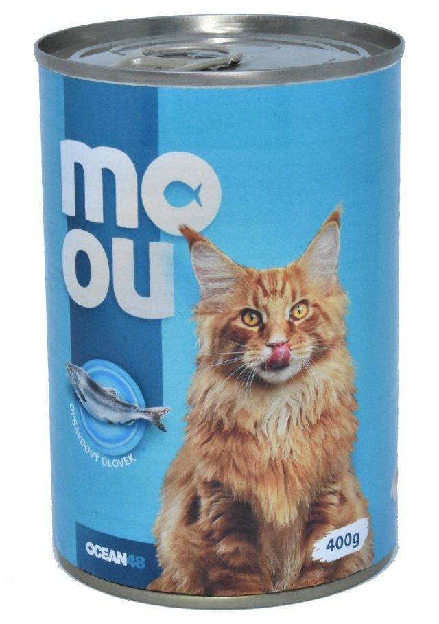 Ocean48 konzerva pro kočky mořské ryby 400g