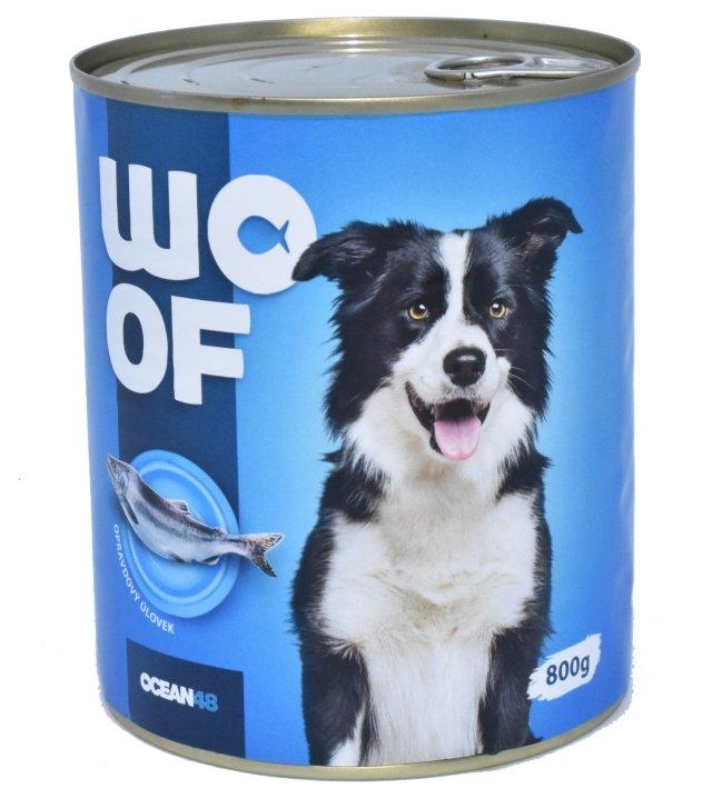 Ocean48 konzerva pro psy mořské ryby 800g
