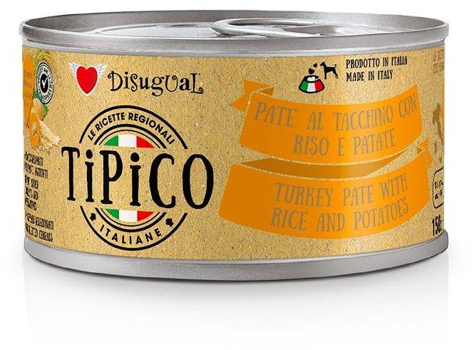 Disugual Tipico Dog Krůta, rýže a brambory konzerva 150g